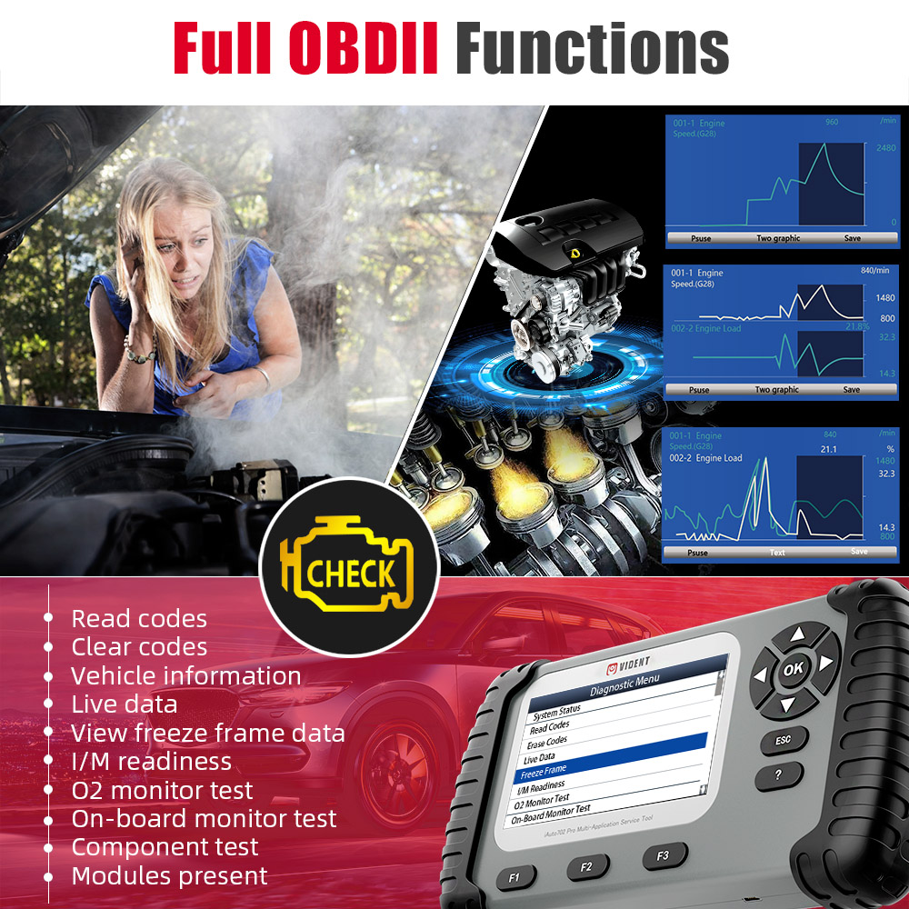 iAuto 702Pro Full OBDII Functions