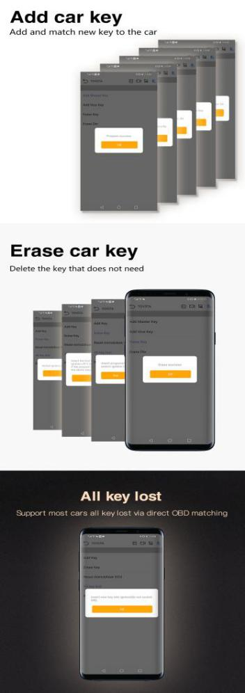 add and erase car key