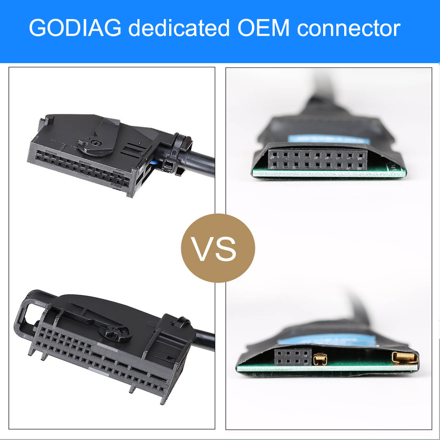 Godiag dedicated OEM connector
